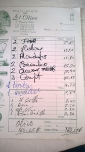 regningen